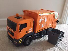 Toy bin truck