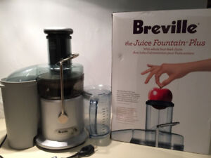 Breville Juicer Two-Speed Juice Fountain  Plus - USED ONCE