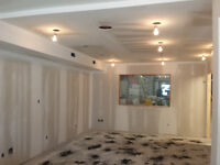 Tape- 2 -Finish Drywall Services