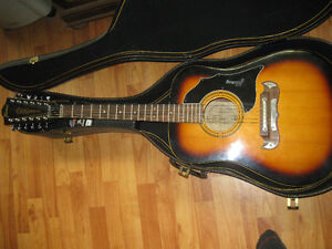 rare 1967 framus 12 string texan acoustic guitar