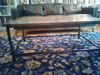 Rustic, Industrial, Wooden Coffee Table- Plateau Location City of Montréal Greater Montréal Preview