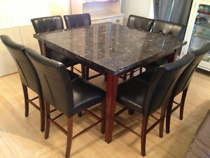 Bar Dining Table and Chairs Kawartha Lakes Peterborough Area image 1