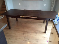 Large dining table