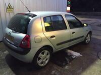 Renault Clio 1.2 5DR Low Miles Long Mot Quick Sale-Not Corsa/Fiesta/Saxo