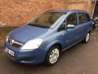 2008 Vauxhall Zafira Automatic Life 2 Owners Long Mot Bargain