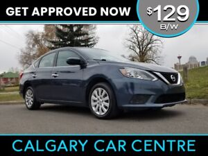 2017 Sentra SV $129B/W TEXT US FOR EASY FINANCING 587-582-2859