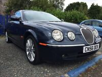 LOVELY WELL MAINTAINED JAGUAR S-TYPE SE DIESEL 90.000 MILES FULL SERVICE HISTORY