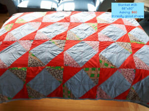 Quilts & Wool Blankets! - Selling Individually or Package Deal!
