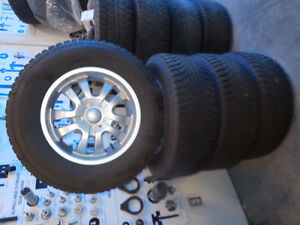 Champiro IcePro SUV 275/65R18 at least 90% with NEW RIMS!