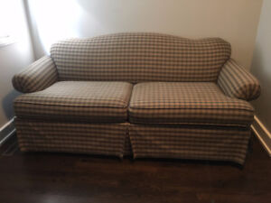 Couch opens up to Sofa Bed