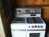 oil/propane stove