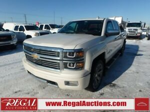 2015 CHEVROLET SILVERADO 1500 HIGH COUNTRY CREW CAB 4WD 5.3L HIG