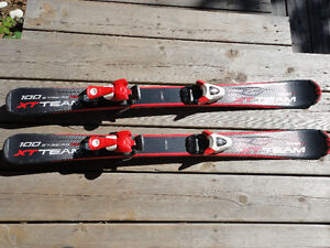 junior skis and boots