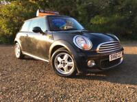 *12 MTHS WARRANTY*2010(60)MINI COOPER 1.6 DIESEL(CHILLI)WITH ONLY 69K FSH*