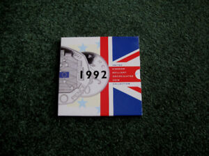 1992 Royal Mint Annual Uncirculated 9 Coin Set