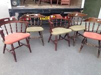 Captains chairs x8
