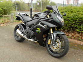 Honda CBR600 FA-C ABS 2013 only 1060 mls BLACK, NEW MOT,HPI CLEAR £299 DEPOSIT