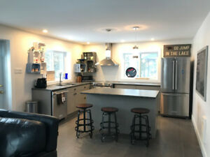 Renovated lakefront home for rent