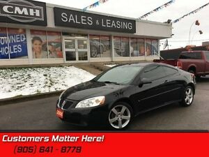 2006 Pontiac G6 GT   HTD LEATHER MOONROOF *CERTIFIED*