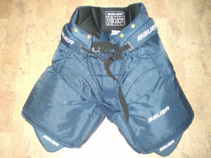 Bauer Performance Jr Large L Navy Goalie pants