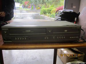 Combination VHS / DVD Player