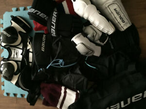 Bauer kids hockey gear for sale - $80.00 obo