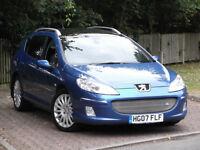 Peugeot 407 SW 2.7HDI GT V6**Very Rare Diesel Automatic GT Estate Model**SAT NAV