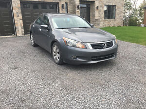 2008 Honda Accord EXL-V6 Berline