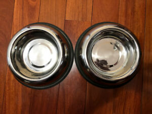 Stainless Steel Dog Bowl- Brand New