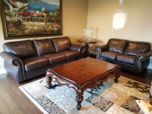 Supper Comfortable Buffalo Leather Sofa Set, Delivery Available