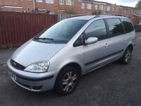 2002 FORD GALAXY 1.9 TDI DIESEL 11 MONTHS MOT-MUST BE SOLD CHEAPEST ABOUT !!!