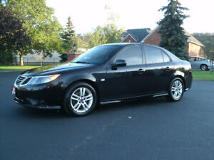 2011 Saab 9-3 Turbo4: Rare Find, 6 Speed, Only 135Kms ,Must See!