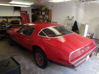 "SELLER MOTIVATED1979 Firebird Esprit ""Red Bird"" Matching Numbers"