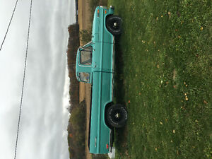 1969 Ford Camper Edition for a backhoe + $$