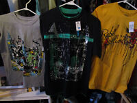 T-Shirts, Boys large $7 each NEW