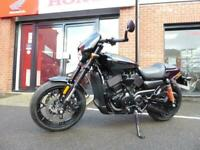 Harley-Davidson Street Rod immaculate with only 1142 miles from new
