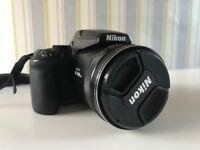 Nikon COOLPIX P900 Digital Camera + Charger + Additional Battery + 128GB Card + Tripod
