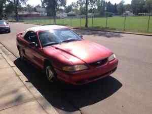 1997 convertible Mustang
