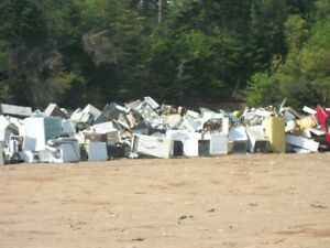 FREE SCRAP METAL DROP OFF SITE