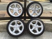 "GENUINE FORD COSWORTH ALLOY WHEELS 16"" *VERY RARE* 4x108, 8J"