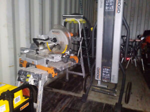"""Rigid 12"""" saw and stand"""