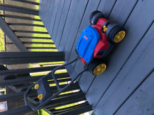 Tondeuse fisher price grass cutter jouet