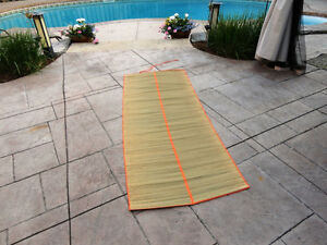 Organic Natural Grass Yoga Sitting Mat - Excellent shape. Kitchener / Waterloo Kitchener Area image 2