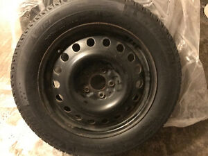 4 Winter tires with 4 Rims For Sure Kitchener / Waterloo Kitchener Area image 2