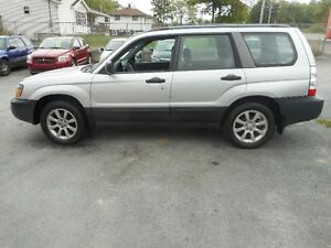 2005 Subaru Forester tax included SUV, Crossover