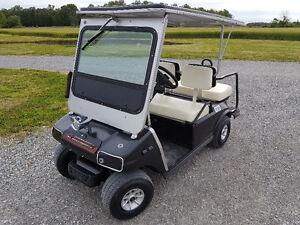 1997 Club Car Villager Electric Golf Cart
