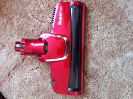 Supervac vacuum cleaner motorised head