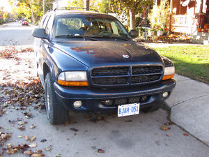 2001 Dodge Durango Winter Ready