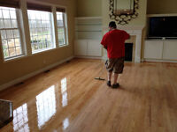 Hardwood floor refinishing sanding subcontractor position.