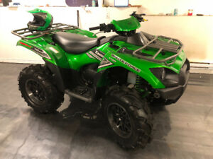Demo model - 2016 Kawasaki Brute Force 750 4X4 wench and lifted!